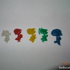 Figuras de Goma y PVC: ANTIGUA FAMILIA TELERÍN * VAMOS A LA CAMA* PREMIUM DE DIFERENTES MARCAS DE PIPAS - AÑO 1970S.. Lote 76191719