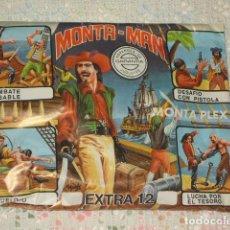 Figuras de Goma y PVC: MONTAPLEX,MONTA - MAN.EXTRA Nº 12. Lote 76491959