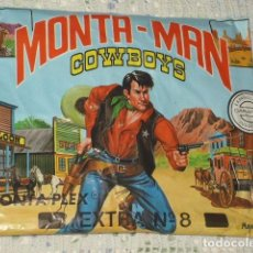 Figuras de Goma y PVC: MONTAPLEX,MONTA - MAN. EXTRA Nº 8. Lote 76492379