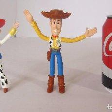 Figuras de Goma y PVC: WOODY Y JESSIE - TOY STORY. Lote 76533279
