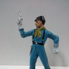 Figuras de Goma y PVC: SOLDADO FEDERAL YANKEE . REALIZADO POR COMANSI . PRIMERA EPOCA. Lote 76620299