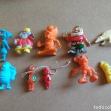 Figuras de Goma y PVC: MAGNIFICO LOTE DE MUÑECOS VARIADOS, VICKY, MICKY, VILMA, MONSTRUO Y DOS MUÑECAS AÑOS 20 CELULOSA. Lote 76622331