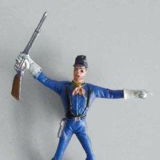 Figuras de Goma y PVC: SOLDADO AMERICANO DEL 7º DE CABALLERÍA DE COMANSI. Lote 76657711