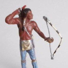Figuras de Goma y PVC: ANTIGUO GUERRERO INDIO . Lote 76658479