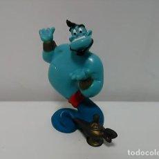 Figuras de Goma y PVC: FIGURA DEL GENIO DE LA LÁMPRA DE LA PELÍCULA ALADDIN © DISNEY BULLYLAND ® MADE IN CHINA HANDPAINTED. Lote 76675575