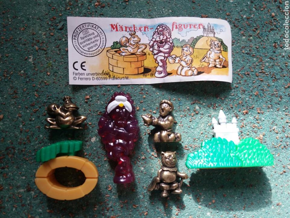 Figuras Kinder: Colección Kinder Ferrero. Serie Completa de Aladino y la lámpara Maravillosa. - Foto 2 - 76680434