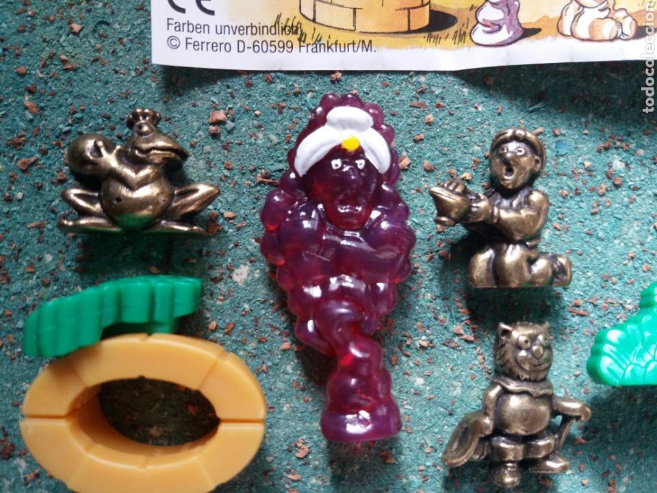 Figuras Kinder: Colección Kinder Ferrero. Serie Completa de Aladino y la lámpara Maravillosa. - Foto 3 - 76680434
