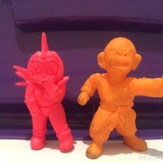 Figuras de Goma y PVC: LOTE FIGURAS DUNKIN DRAGON BALL BOLA KRILIN AÑOS 80 90 MATUTANO. Lote 261636350