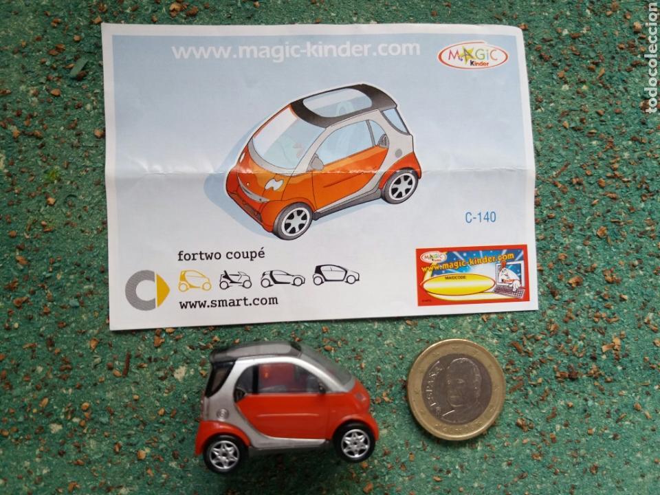 Figuras Kinder: Figura Colección Magic-Kinder. Modelo Fortwo Coupe. C-140. - Foto 3 - 76744550