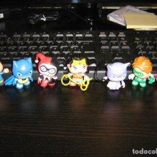 Figuras de Goma y PVC: LITTLE MATES - MARVEL, DC COMICS (SUPERMAN, BATMAN, LINTERNA VERDE WONDERWOMAN CATWOMAN HARLEY QUINN. Lote 76978197