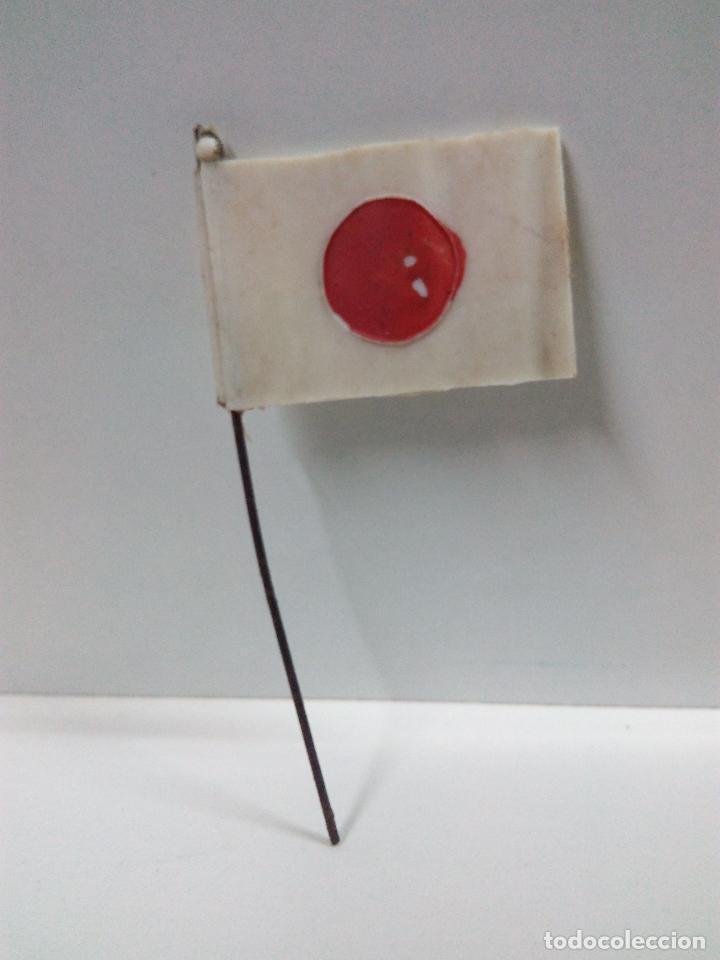 Figuras de Goma y PVC: BANDERA JAPONESA . REALIZADA POR PECH . AÑOS 60 - Foto 2 - 77021797