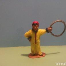 Figuras de Goma y PVC: ANTIGUA FIGURA DOMADOR DE PERROS DEL CIRCO JECSAN. Lote 77042865
