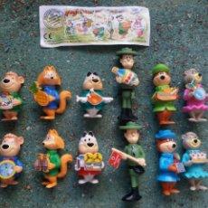 Figuras Kinder: COLECCIÓN COMPLETA FIGURAS KINDER. SERIE OSO YOGUI. AÑOS 90.. Lote 124179103