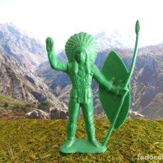 Figuras de Goma y PVC: FIGURA OESTE 'INDIO 00009', ALTURA 9 CM APROX.. Lote 77573225