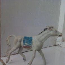 Figuras de Goma y PVC: INDIO PVC OESTE PECH CABALLO. Lote 77749513