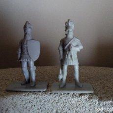 Figuras de Goma y PVC: MUÑECO - FIGURA SOLDADOS MEDIAVALES DE KELLOGG´S 1994 MUY RARAS EN ESPAÑA DUNKIN. Lote 77756661