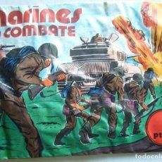 Figuras de Goma y PVC: MARINES EN COMBATE. Lote 77899809