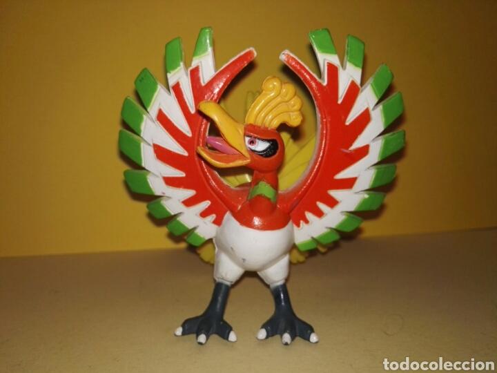 HO-OH PÓKEMON TOMY PVC (Juguetes - Figuras de Goma y Pvc - Otras)