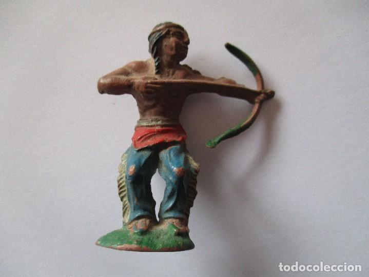 INDIO EN GOMA LAFREDO (Juguetes - Figuras de Goma y Pvc - Lafredo)