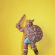 Figuras de Goma y PVC: FIGURA VIKINGO AÑOS 60. Lote 77933353