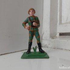 Figuras de Goma y PVC: UPSELONROOT FIGURAS DE PVC GUERRA MUNDIAL JECSAN BRITANICOS ARTILLERIA PECH CAÑON MIMETIZADO. Lote 77965309