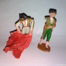 Figuras de Goma y PVC: FIGURAS TOREROS TEIXIDO. Lote 78377397