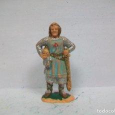 Figuras de Goma y PVC: FIGURA RICARDO CORAZON DE LEON REAMSA - CORTE FEUDAL DE REAMSA - MEDIEVAL DE REAMSA. Lote 78479793