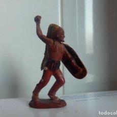 Figuras de Goma y PVC: FIGURA INDIO REAMSA EN GOMA OESTE PECH AÑOS 50 ORIGINAL. Lote 78651245