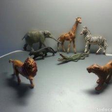 Figuras de Goma y PVC: ANIMALES SAVAJES GAMA AÑOS 50. Lote 78828334