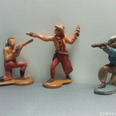 Figuras de Goma y PVC: VAQUEROS.GAMA PENCH AÑOS 50. Lote 78839765