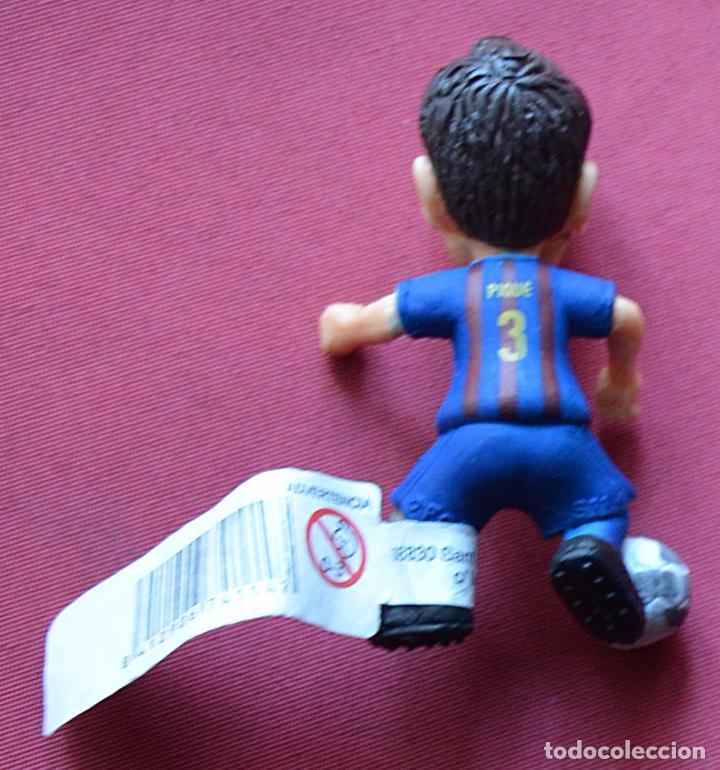 Figuras de Goma y PVC: PIQUÉ - COMANSI - NUEVO CON SU ETIQUETA - PRODUCTO OFICIAL FUTBOL CLUB BARCELONA - BARÇA - Foto 2 - 79209797