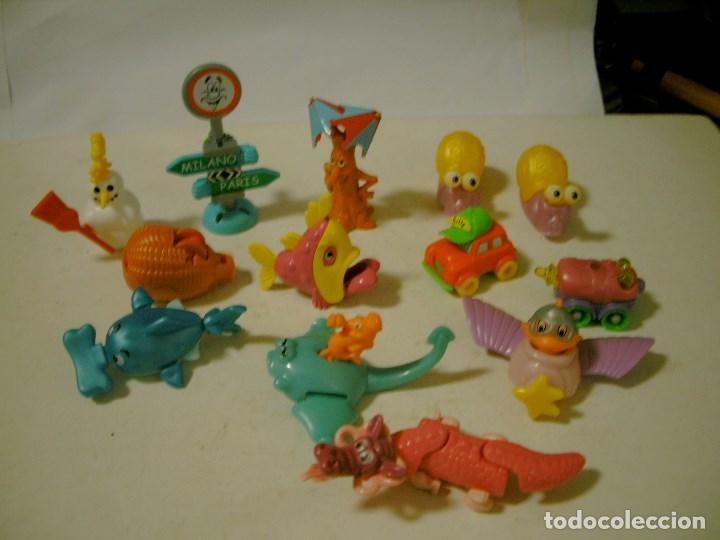 LOTE DE FIGURAS HUEVOS KINDER (Juguetes - Figuras de Gomas y Pvc - Kinder)