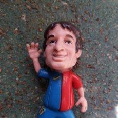 Figuras de Goma y PVC: FIGURA EN PVC DE LEO MESSI. F.C.BARCELONA. YOLANDA.. Lote 79269557