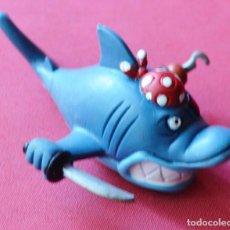 Figuras de Goma y PVC: SHARKY - TIBURÓN PIRATA DE DELFY - COMICS SPAIN - D'OCON FILMS - 1992. Lote 79302333