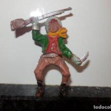Figuras de Goma y PVC: VAQUERO LAFREDO EN GOMA. Lote 79491301