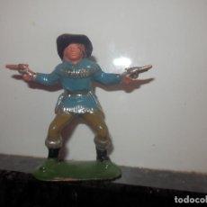 Figuras de Goma y PVC: VAQUERO OESTE EN PVC PECH . Lote 79492077