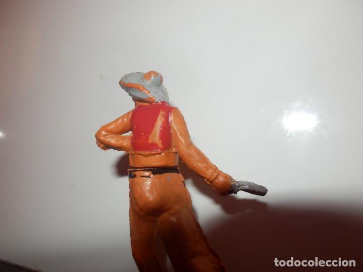 Figuras de Goma y PVC: figura desmontable de vauero gama - Foto 2 - 79493109