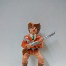 Figuras de Goma y PVC: VAQUERO - COWBOY PARA CARRETA O CABALLO . COMANSI . PRIMERA EPOCA. Lote 79797837