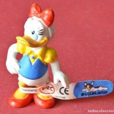 Figuras de Goma y PVC: DAISY - DONALD - DISNEY - FIGURA BULLYLAND NUEVA CON SU ETIQUETA . Lote 80051997