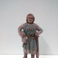 Figuras de Goma y PVC: FIGURA DE REAMSA Nº 181 . SERIE RICARDO CORAZON DE LEON . AÑOS 50 EN GOMA. Lote 80134377