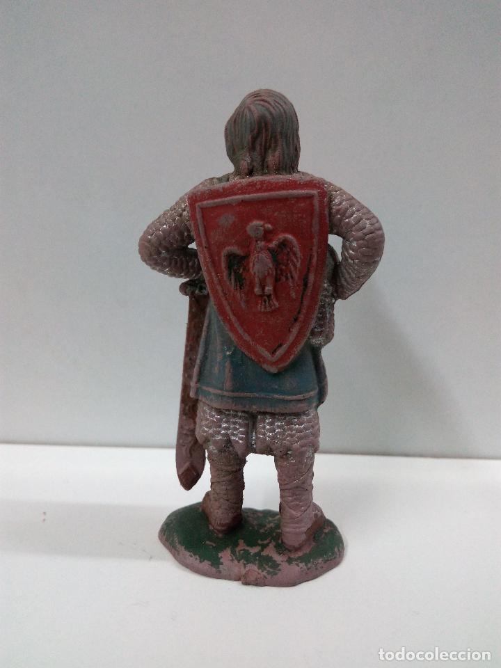 Figuras de Goma y PVC: FIGURA DE REAMSA Nº 181 . SERIE RICARDO CORAZON DE LEON . AÑOS 50 EN GOMA - Foto 2 - 80134377