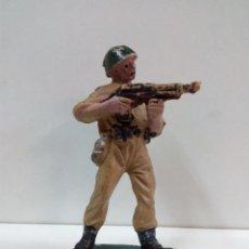 Figuras de Goma y PVC: MARINE - SOLDADO AMERICANO . REALIZADO POR PECH . AÑOS 60. Lote 80277881