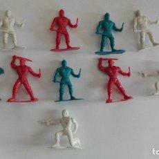 Figuras de Goma y PVC: FIGURAS CON PARCHE PVC AÑOS 80-90 CHINA JUGUETE DE KIOSKO NO MONTAPLEX BARATIJA. Lote 80390641