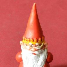 Figuras de Goma y PVC: FIGURA DE DAVID EL GNOMO - EL REY SABIO - AÑOS 80 - 9 CM. Lote 80411057