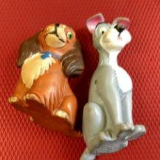 Figuras de Goma y PVC: FIGURA O MUÑECO GOMA PVC - LA DAMA Y EL VAGABUNDO - COMICS SPAIN. Lote 80746498