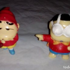 Figuras de Goma y PVC: FIGURA PVC COMANSI - 2 FIGURAS DE SHIN CHAN. Lote 80785022