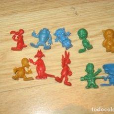 Figuras de Goma y PVC: LOTE DUNKIN. Lote 80881619