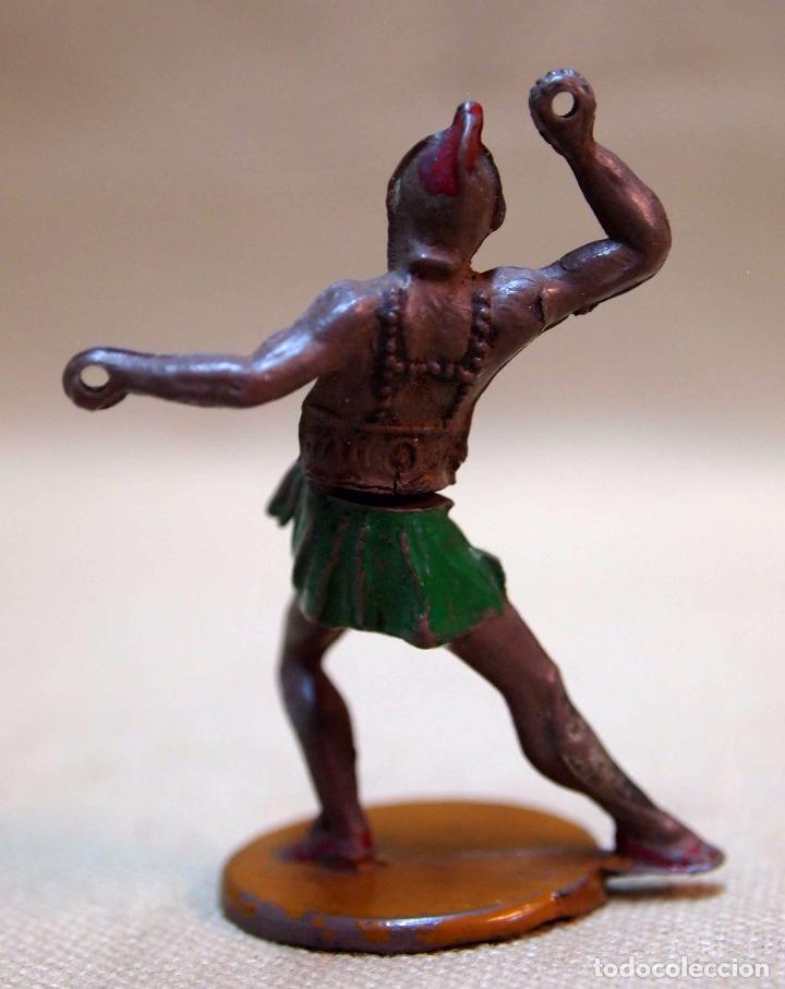 Figuras de Goma y PVC: ANTIGUA FIGURA DE GOMA, FABRICADA POR GAMA, GLADIADOR, 5 cm - Foto 2 - 80913884