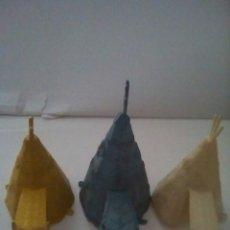 Figuras de Goma y PVC: LOTE 3 TIENDAS INDIAS COMANSI AÑOS 60. Lote 81092014