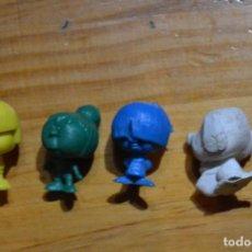 Figuras de Goma y PVC: LOTE DUNKIN CABEZONES. Lote 80883723